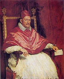 El retrato viajero de Inocencio X hecho por Velázquez