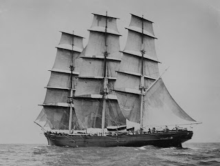 Cutty Sark, bruja, barco y whisky