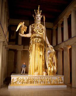 La monumental Atenea Partenos