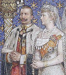 Guillermo II y su esposa