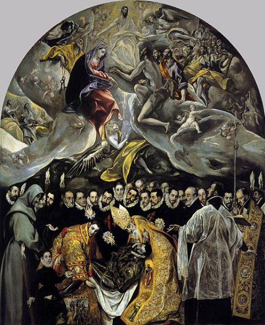 El entierro del Conde Orgaz de El Greco