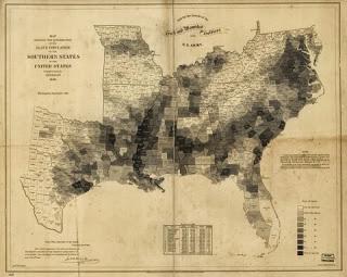 El mapa estadístico que ayudó a Lincoln