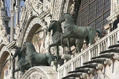 Los viajeros caballos de la Basílica de San Marcos