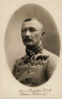 El general Oskar Potiorek
