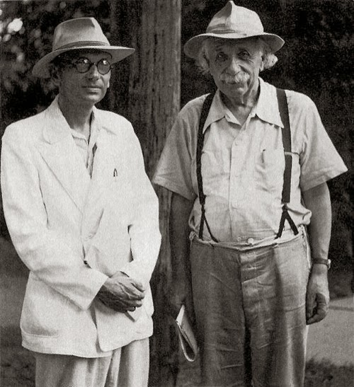 Con Gödel en 1954