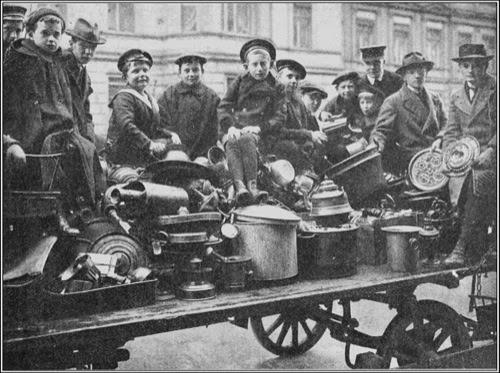 Ersatz, los sucedáneos en la Primera Guerra Mundial