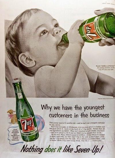 7 Up, una vieja bebida contra la resaca