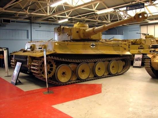 El Tiger 131 del museo de Bovington