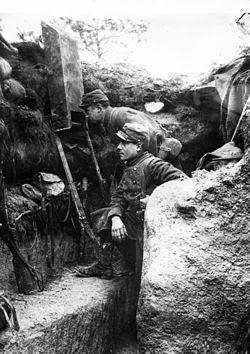 Trincheras en la Primera Guerra Mundial