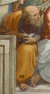 Anaximandro, pintado por Rafael