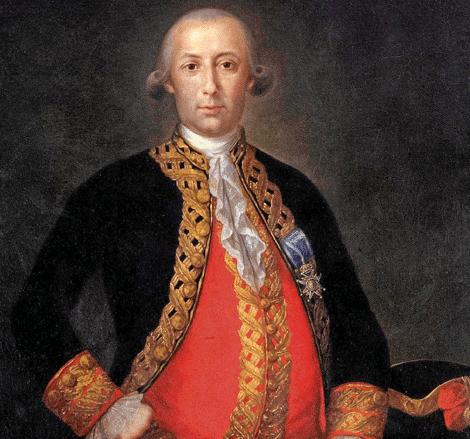 Bernardo de Gálvez, único español en las paredes del Capitolio
