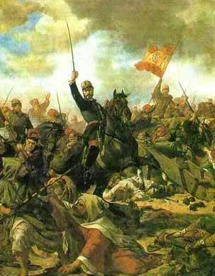 Prim en la batalla de Castillejos