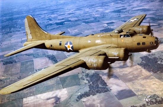 B-17 en vuelo