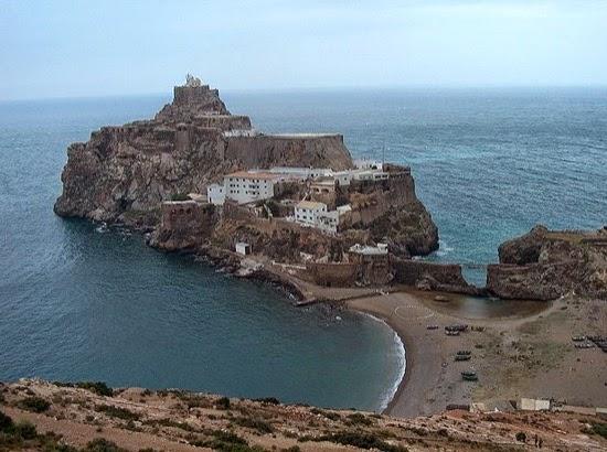 La frontera más pequeña del mundo es española