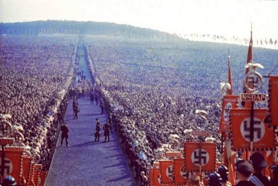 11 impresionantes fotos en color de los festivales nazis