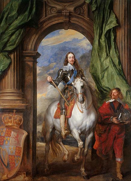 Carlos I de Inglaterra por Anton Van Dyck