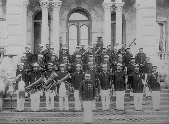 Banda Real de Hawái en 1889