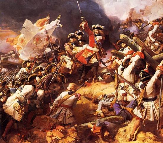 Batalla de Denain - 1712