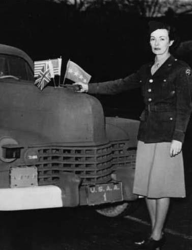 El posible romance entre Eisenhower y su chófer