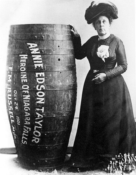Annie Taylor y su barril
