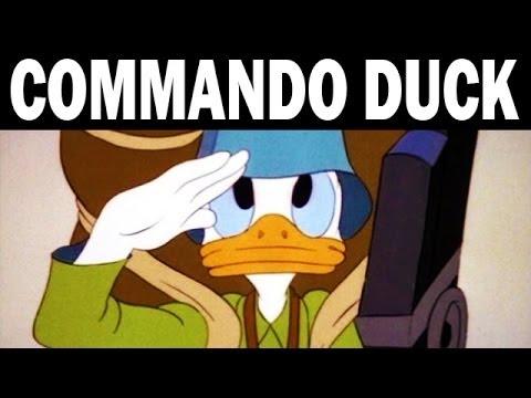 Los cortos de Disney contra los nazis