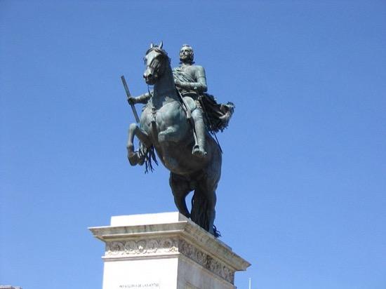 La estatua ecuestre de Felipe IV, obra de arte y ciencia