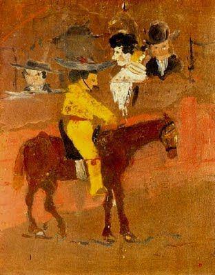El picador, de Pablo Picasso