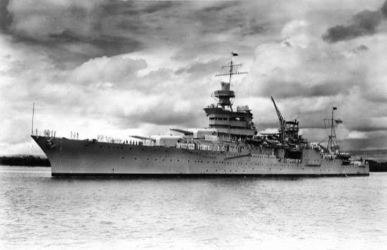 El desgraciado secreto del USS Indianapolis