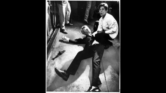 Romero junto a RFK tras el atentado