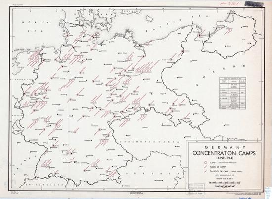 Campos de concentración alemanes (1944)