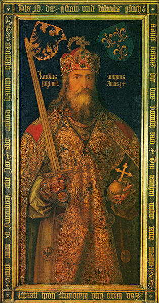 La Santa Ampolla, la espada Joyosa y los reyes de Francia