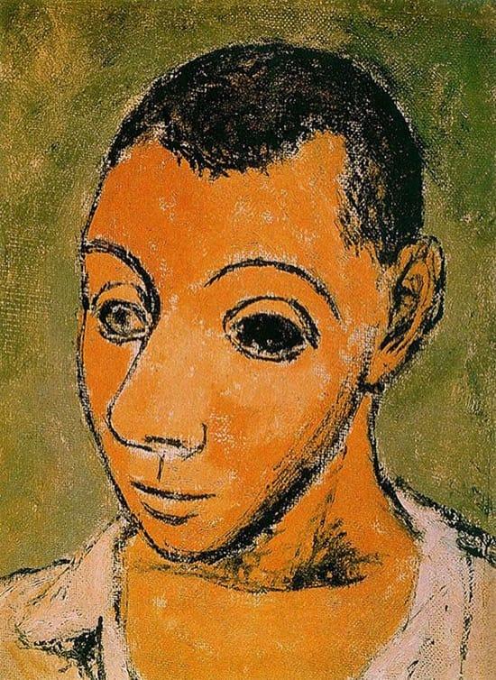 Autorretrato de Picasso en 1906, con 24 años