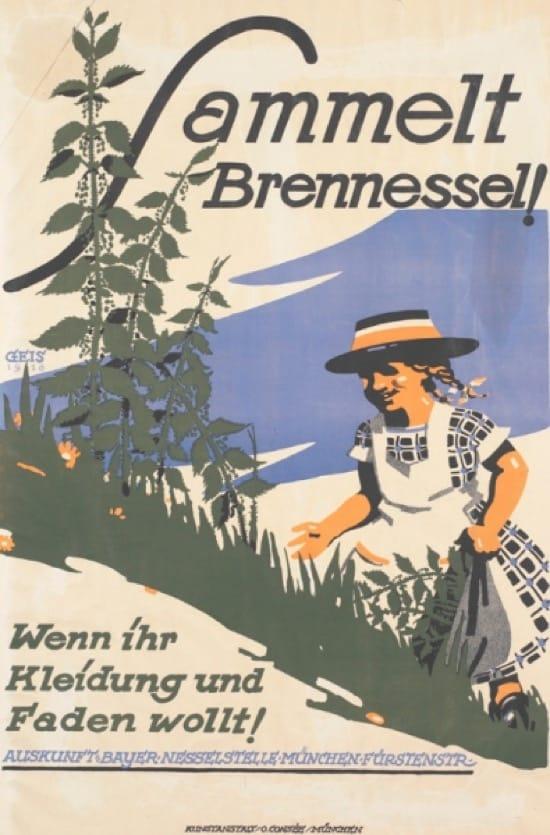 Los uniformes hechos con ortigas en la Primera Guerra Mundial