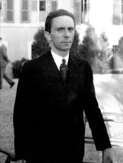 Goebbels fotografiado por Eisenstaedt