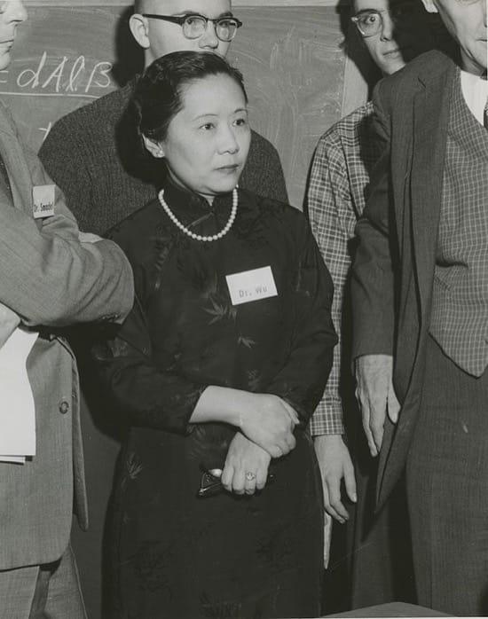 Chien-Shiung Wu, la científica que descubrió un secreto viendo una fórmula en una pizarra