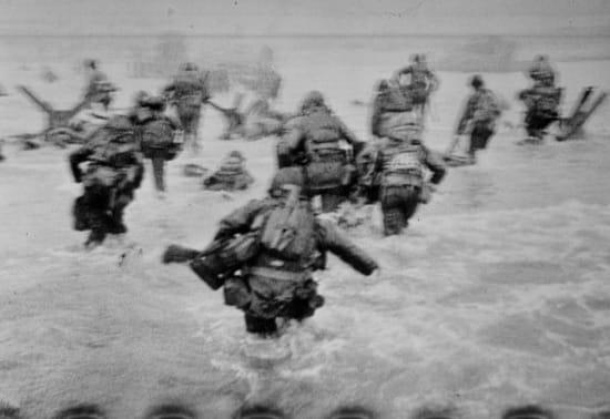 Las 11 magníficas de Robert Capa en el día D