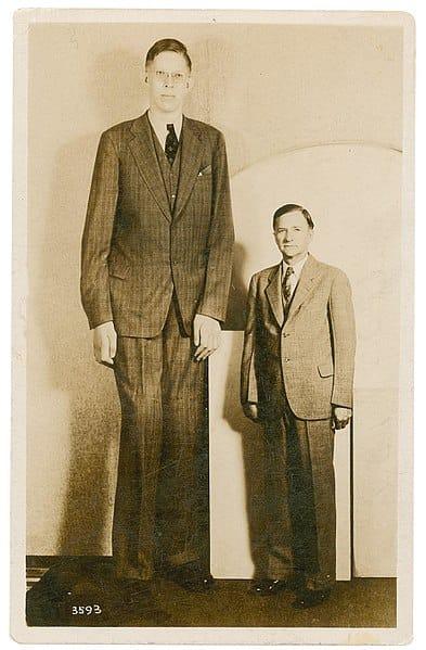 El hombre más alto de la historia medía 2,72