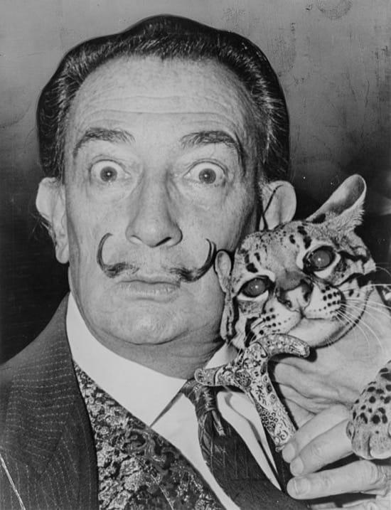 La creación de Dalí de la nada de una idea que parece pensada a fondo