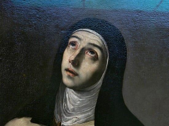 Franco y la mano de Santa Teresa de Jesús