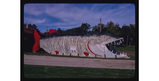 Big Fish Supper Club, en Minnesota en 1980. Foto de John Margolies