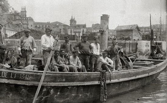 Los llamadores, los despertadores humanos de los marineros españoles