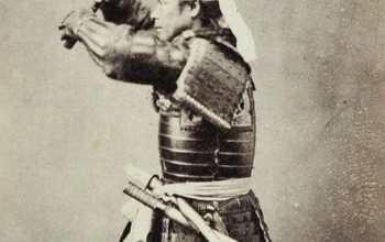 Fotos históricas de samuráis reales 11
