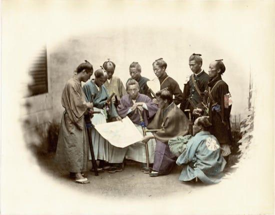 Fotos históricas de samuráis reales 9
