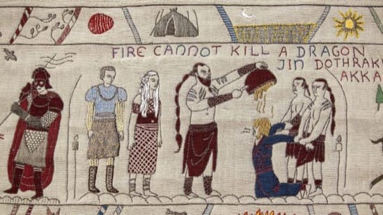 El fuego no puede matar a un dragón