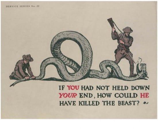Carteles para Veteranos Primera Guerra Mundial 6
