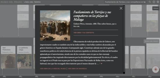 La línea del tiempo del Museo de Prado2