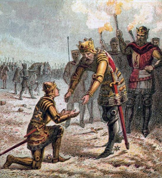 El Lunes Negro y la granizada que mató a mil caballeros ingleses