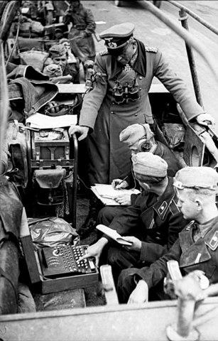 Enigma a bordo del vehículo de Heinz Guderian