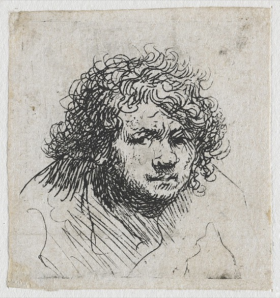 Rembrandt Autorretrato 1626