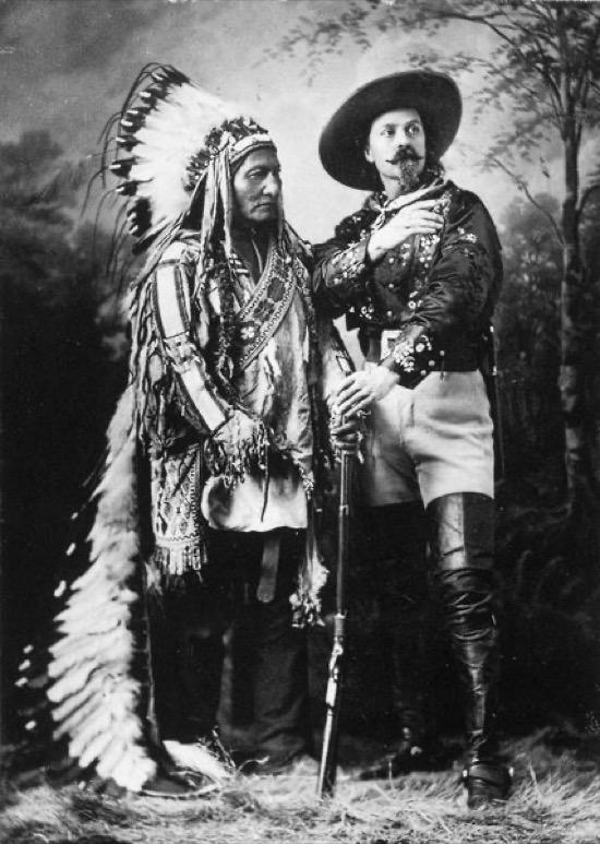 Buffalo Bill y Toro Sentado
